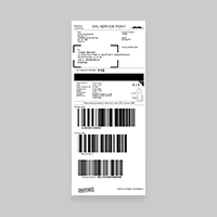 Labels 105 x 251 mm